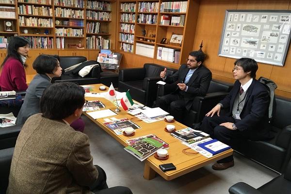 رایزن فرهنگی ایران در ژاپن: همکاری موزهها راهی برای توسعه روابط ایران و ژاپن