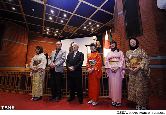 گزارش ایسنا از افتتاح هفته ژاپن / حوزه فرهنگ و هنر مرز جغرافيايي نميشناسد