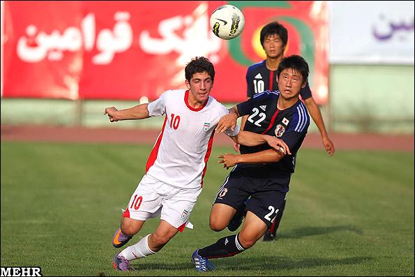 گزارش تصویری/ دیدار تیم های فوتبال نوجوانان ایران و ژاپن