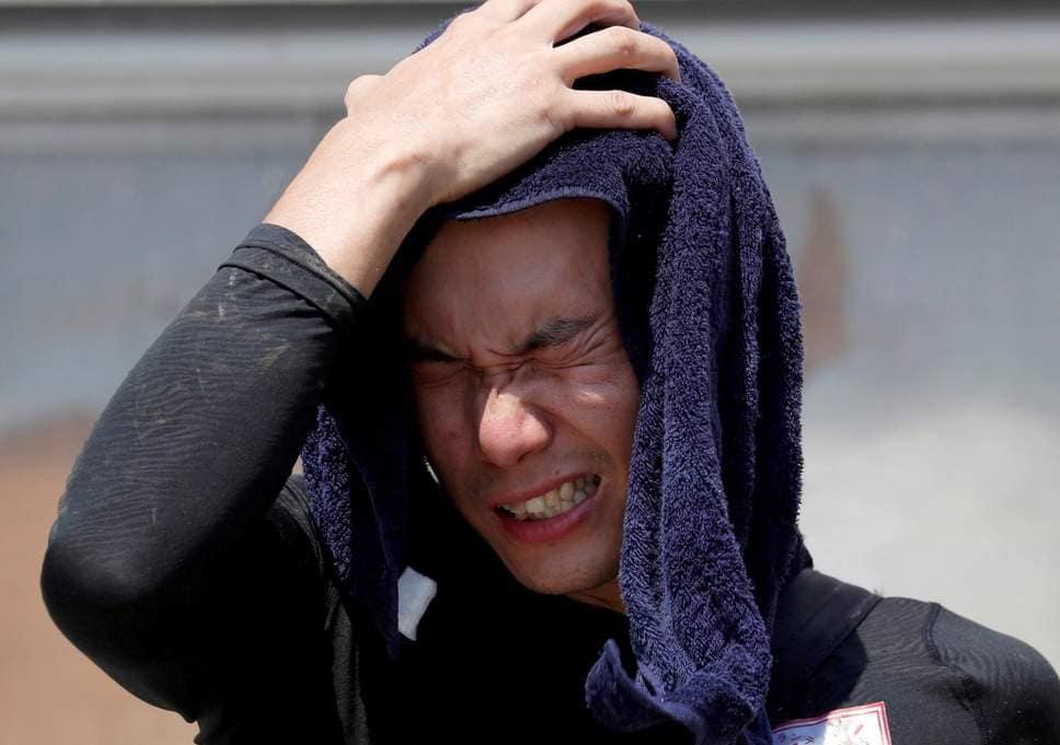 گرما در ژاپن جان ۱۱ تن را گرفت
