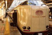قطارهایی در ژاپن که علاوه بر خوابگاه مخصوص، حمام هم دارند