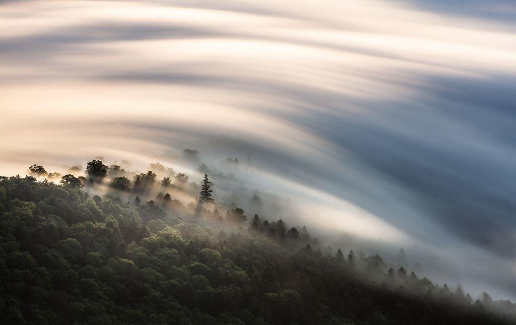 عکس روز نشنال جئوگرافیک؛ ابرهای شگفت در جزیرهی هوکایدو
