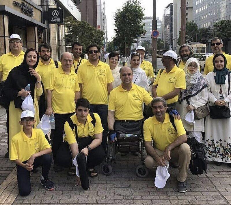 حضور هنرمندان ایرانی در سالگرد بمباران اتمی هیروشیما