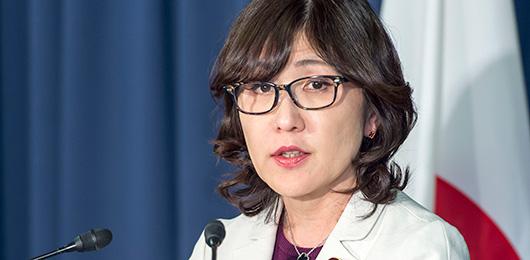 ژاپن در دست زنان/ یک زن وزیر دفاع ژاپن شد