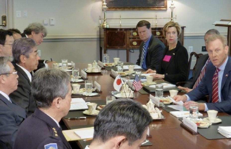 نشست وزرای دفاع آمریکا و ژاپن به منظور مقابله با برتری نظامی چین