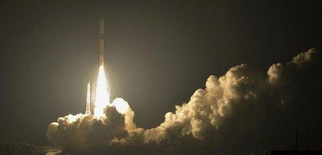اولین پرتاب تجاری ماهواره در ژاپن