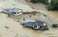 سیلاب و رانش زمین در ژاپن بیش از۱۰۰ کشته بر جا گذاشت
