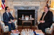دیدار پامپئو و دبیر شورای امنیت ملی ژاپن