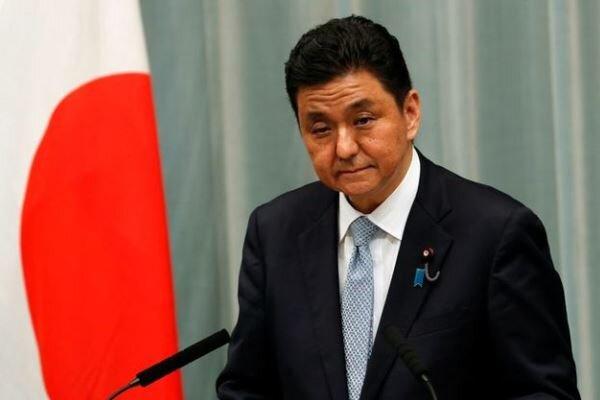 وزیر دفاع ژاپن: با وزیر خارجه آمریکا درباره فعالیتهای چین صحبت میکنم