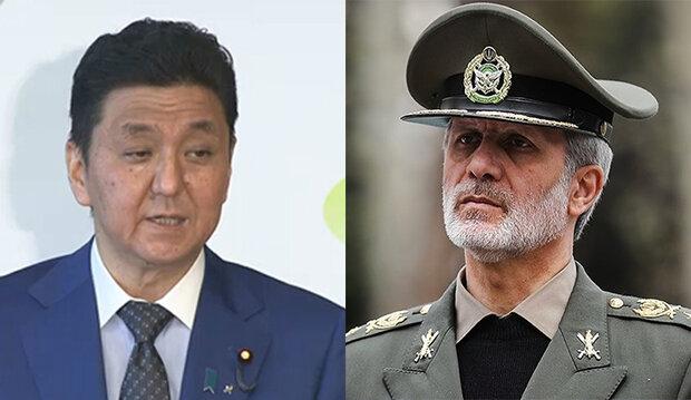 تأکید بر لزوم گسترش و تعمیق همکاریهای دفاعی ایران و ژاپن