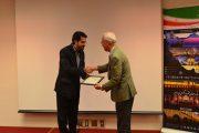 گواهینامه ۷ نفر از فارغ التحصیلان زبان و ادبیات فارسی اهداء شد